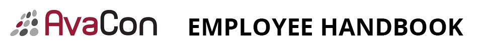 AvaCon Employee Handbook